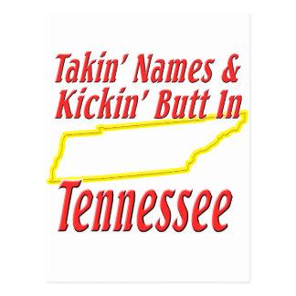 Tennessee - Kickin' Butt Postcard