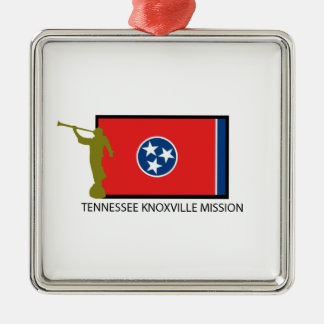 TENNESSEE KNOXVILLE MISSION LDS CTR METAL ORNAMENT