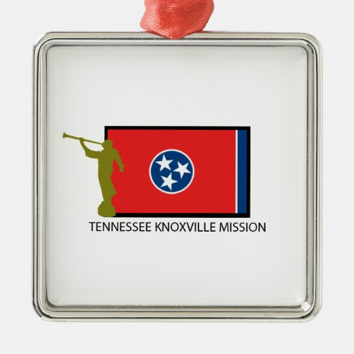 TENNESSEE KNOXVILLE MISSION LDS CTR CHRISTMAS ORNAMENT