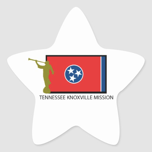 TENNESSEE KNOXVILLE MISSION LDS CTR STAR STICKERS