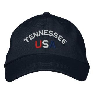 Tennessee los E.E.U.U. bordó el gorra de los azule Gorras De Béisbol Bordadas