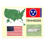 Tennessee, los E.E.U.U. Postal