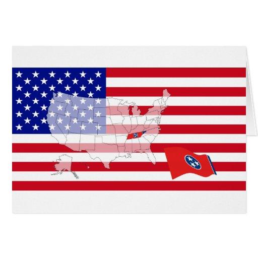 Tennessee, los E.E.U.U. Tarjeta De Felicitación