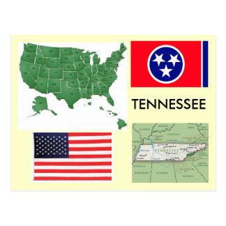 Tennessee, los E.E.U.U. Postales