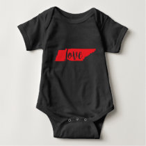 TENNESSEE LOVE BABY BODYSUIT