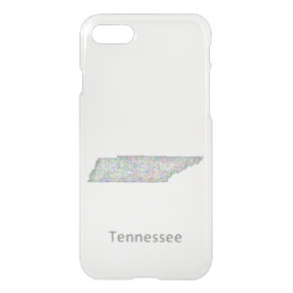 Tennessee map iPhone 7 case