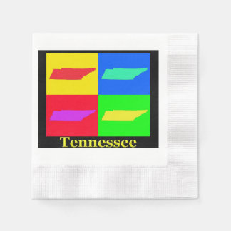 Tennessee Map Napkin
