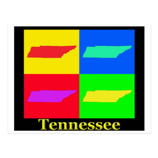 Tennessee Map Postcard