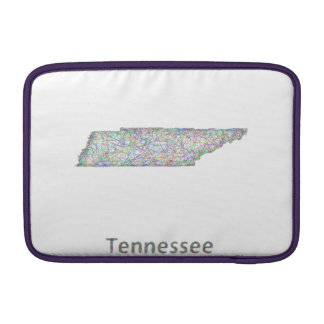 Tennessee map sleeve for MacBook air
