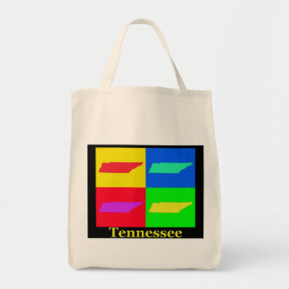 Tennessee Map Tote Bag