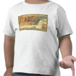 Tennessee, Mississippi, Alabama y Georgia Camiseta