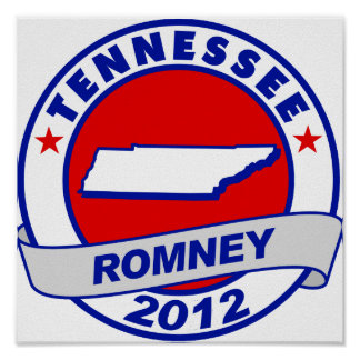 Tennessee Mitt Romney Posters