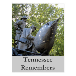 Tennessee Monument Shiloh National Military Park Postcard