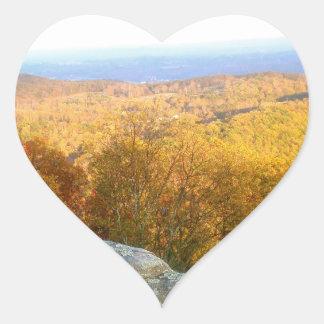 Tennessee Mountain Top Heart Sticker