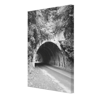 Tennessee Mountain Tunnel Canvas Print