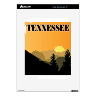 Tennessee Mountains Decal For iPad 2