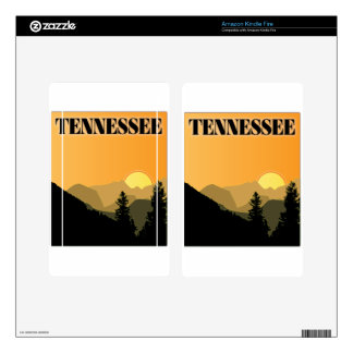Tennessee Mountains Decal For Kindle Fire