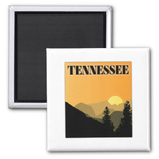 Tennessee Mountains Refrigerator Magnets