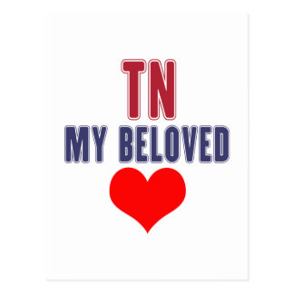 Tennessee my beloved postcard