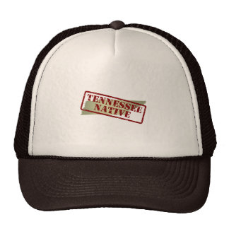 Tennessee Native Stamped on Map Trucker Hat