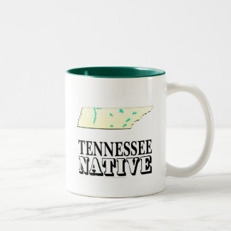 Tennessee Native Two-Tone Coffee Mug