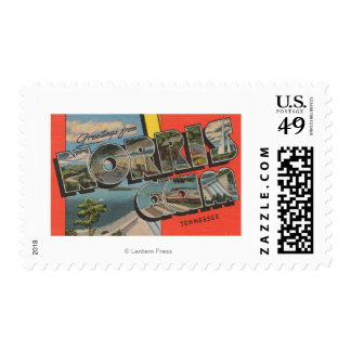 Tennessee - Norris Dam - Large Letter Scenes Postage Stamp