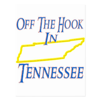 Tennessee - Off The Hook Postcard