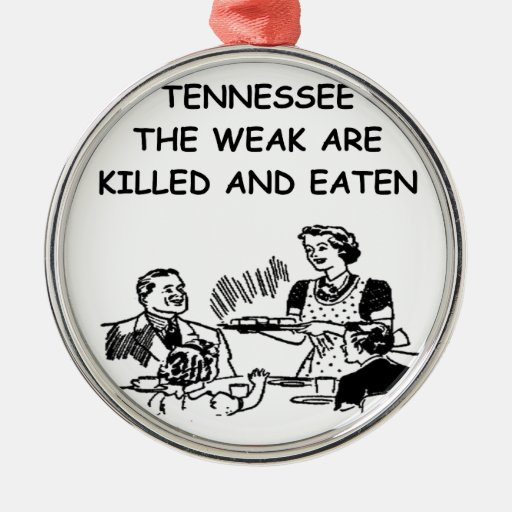 TENNESSEE CHRISTMAS TREE ORNAMENTS
