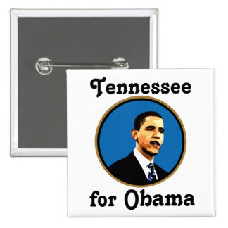 Tennessee para Obama Pins
