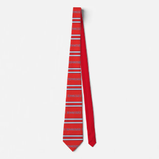 Tennessee Patterned Striped Necktie