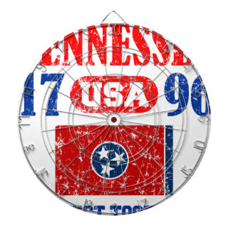 TENNESSEE PERFECT TOGETHER DISTRESSED PRODUCTS DART BOARD