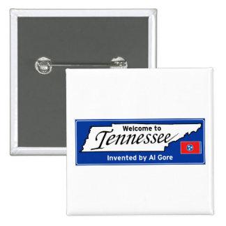 Tennessee Pin Cuadrada 5 Cm