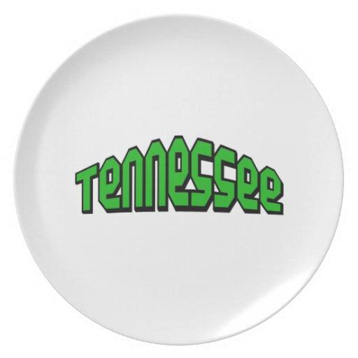 Tennessee Plato Para Fiesta
