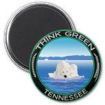 Tennessee polar verde imán