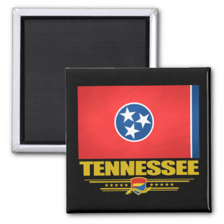 Tennessee Pride 2 Inch Square Magnet
