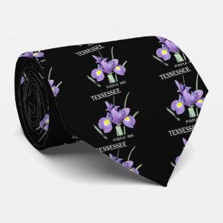 Tennessee Purple Iris Neck Tie