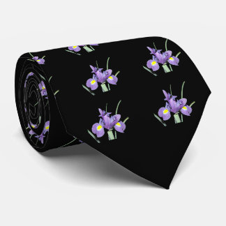 Tennessee Purple Iris Tie