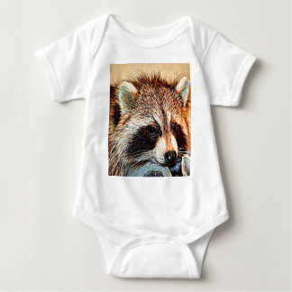Tennessee Raccoon Baby Bodysuit