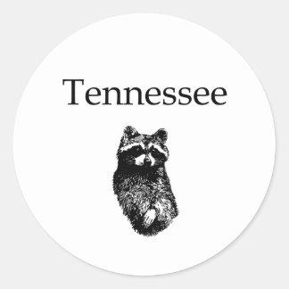 Tennessee Raccoon Classic Round Sticker