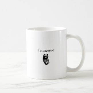 Tennessee Raccoon Classic White Coffee Mug