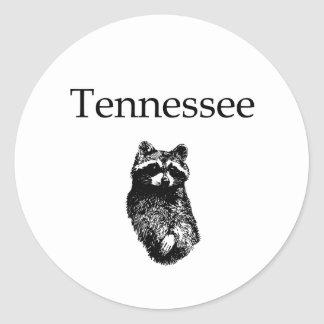 Tennessee Raccoon Stickers