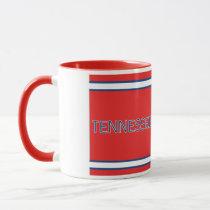 Tennessee Red 11 oz Ringer Mug