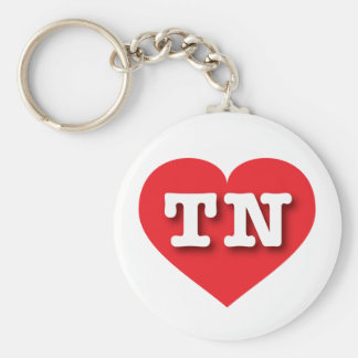 Tennessee Red Heart - Big Love Keychain