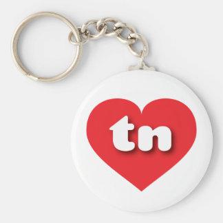 Tennessee red heart - mini love keychain