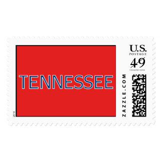 Tennessee Red Postage Stamps