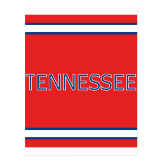 Tennessee Red Postcard