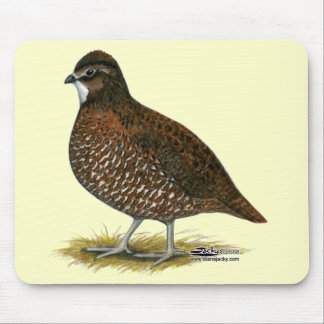 Tennessee Red Quail Mouse Pad