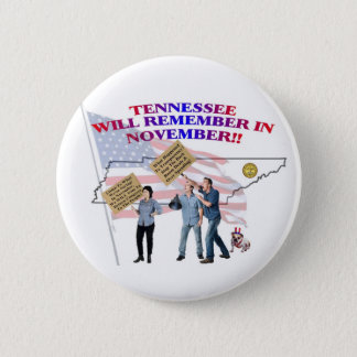Tennessee - Return Congress to the People! Button