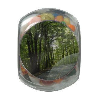 Tennessee Riding Glass Candy Jar