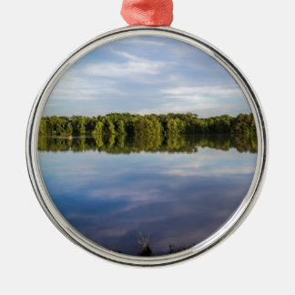 Tennessee River Alabama on a Blue Day Metal Ornament